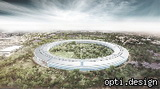 New large-scale project Apple: With headquarters in the form of `UFO`