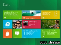 Microsoft released the Windows version 8 for developers